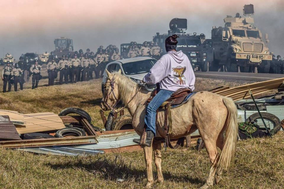 photo by Standing Rock Rising.