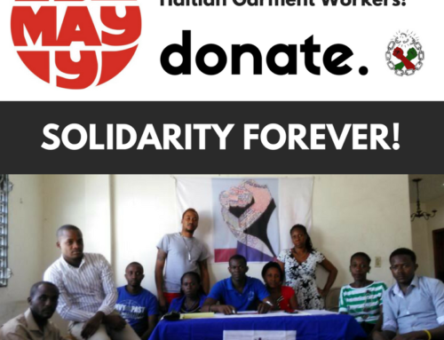 May Day! Solidarity w/Haitian Garment Workers